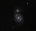 M 51 – The Whirlpool Galaxy